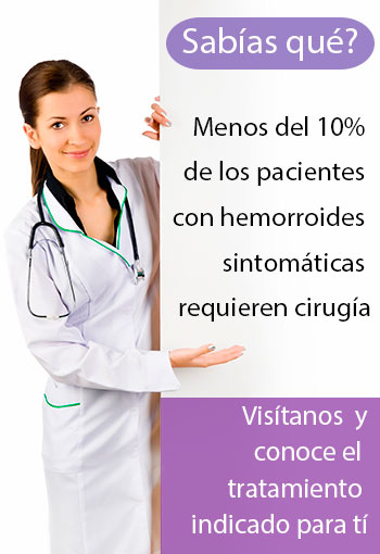 diagnostico y tratamientos para hemorroides en mexico df